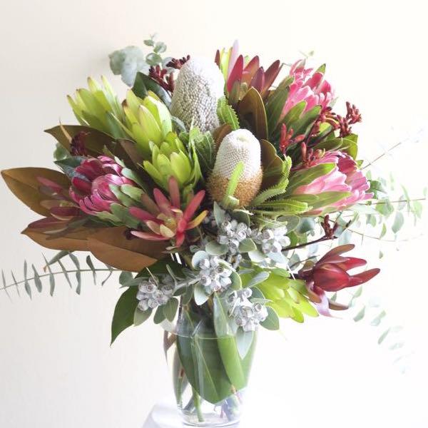 Australian wildflower bouquet