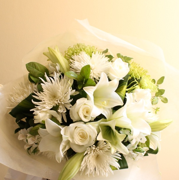 message to go with sympathy flowers